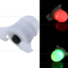 1 Pc 2.8x1.6cm White Fish Strike/Bite Alert Indicator For Night Fishing Obvious
