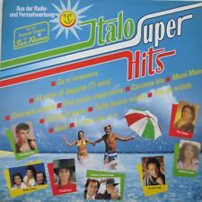 ITALO SUPER HITS - (CLAUDIA MORI=TOTO CUTUGNO=RICCARDO FOGLI) - LP