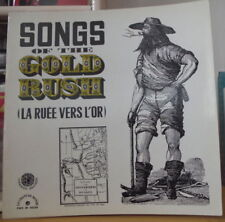LOGAN ENGLISH/BILLY FAIER SONGS OF THE GOLD RUSH FRENCH LP FOLKWAYS RECORDS
