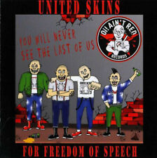 UNITED SKINS FOR FREEDOM OF SPEECH VOL.2 2xCD(48t) -v/a- Oi Skinhead Hais&Fiers