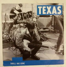 "Texas Thrill Has Gone Single 7"" Alemania 1989"