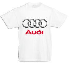 BABY/KID/TODDLER T-Shirt,  AUDI LOGO , Jungen/Mädchen KURZARM