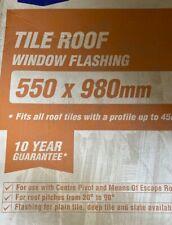 Roof Window Tile Flashing Kit 550 x 980 mm