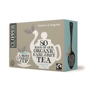 Clipper Tea Bags Fairtrade Organic Earl Grey Tea 80 Bags