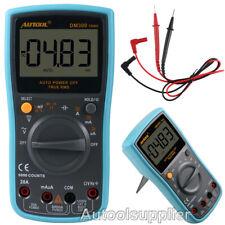 AUTOOL DM300 Digital Multimeter 6000Counts AC/DC Ammeter Voltmeter Current Meter