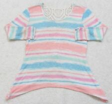 Sweater Small No Boundaries WoMen's 3/4 Sleeve Top Rayon Polyester Spandex