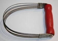 Vintage Androck Wire Wisk/Pastry Blender Red Bakelite Whisk