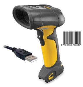 Symbol LS3408 LS 3408 ER Industrie Barcodescanner USB BIS 14M Reichweite