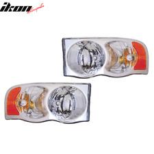 Fits 02-05 Dodge Ram Pick Up RH LH Headlights