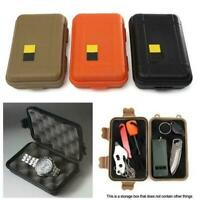 Outdoor Waterproof Shockproof Plastic Survival Container T Case Storage EDC V3B0