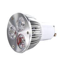 GU10 3W 3 LED high power spot light bulb lamp light DC 12V Warm White A6V8