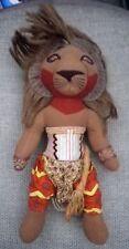 """Walt Disney Lion King Musical 10"""" Simba Soft Plush Toy"""