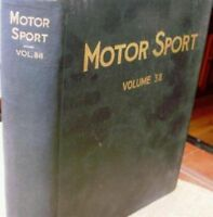 Motor Sport/ Volume 38/ The Teesdale Publishing/ 1962/January to December/London