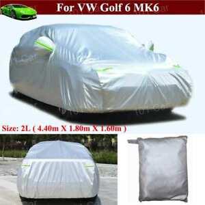 Full Car Cover Waterproof / Windproof / Dustproof for VW Golf 6 MK6 2009-2021
