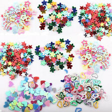 5000PCS Mixed Sequins Nail Art DIY Heart Star Flower Glitter Stickers Decals 3mm