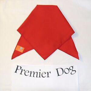 Plain Red Dog Bandana / Scarf - 3 sizes to choose from!