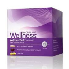Oriflame Original Wellness Pack Woman Food Supplements astaxanthin Omega 3
