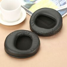 Leather Earpads Fit AH-D2000 AH-D5000 AH-D7000 Headphones Comfortable Black