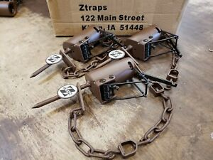 3 Brown Z Trap Dog Proof Trap DP Trap Push and Pull Trigger