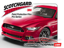 2015-2017 Ford Mustang GT 3MScotchgard PRO Clear Bra Paint Protection Bumper Kit