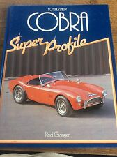 AC FORD SHELBY CONRA Super Profile Car Book by Rod Grainger History Clubs Buying