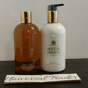 Molton Brown Mesmerising Oudh Accord & Gold Bath & Shower + Body Lotion 300ml