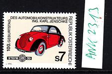 Österreich,1999, ANK 2313,postf.,**,Steyr,50.Ing Karl Jenschke, AUTO
