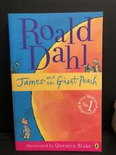 James & the Giant peach Puffin Roald Dahl Paperback Book