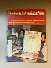 Industrial Education Magazine February 1985 Fiberglass Products Vocational Ed