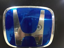 BLUE H-BADGE TO FIT HONDA ACURA RSX /DC5 REAR POSITION - CARBON CULTURE BRAND