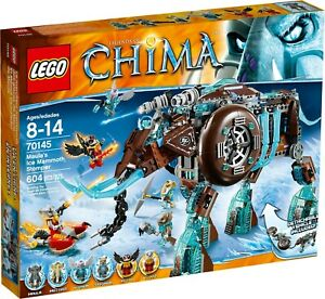 LEGO 70145 Legends of Chima - Maula's Ice Mammoth Stomper - Retired Brand New