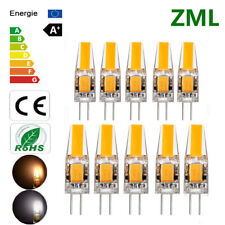 G4 LED 3W 6W 12V AC DC COB Warm/Cold White Light High Quality Lamp Bulb Dimmable