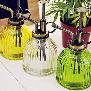 Glass Antique Spray Bottle Garden Water Sprayer Plant Watering Flower-Mister US