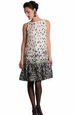 elena.WINTER.Dress MAX MARA Elegante 46 I-42 D-12 USA-44 F-14GB Silk 100%Organza