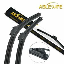 "ABLEWIPE Fit For GMC W5500HD Forward 2008-2004 Windshield Wiper Blades 20"" 20"""