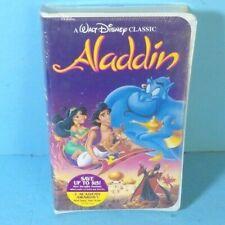 Disney's Aladdin VHS Black DiamondEdition UNOPENED AND BRAND NEW