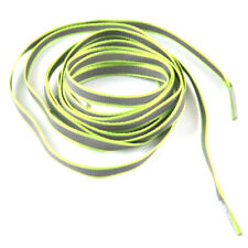 1pair Flat Reflective Runner Shoe Laces Safety Luminous Glowing Shoelace Strings