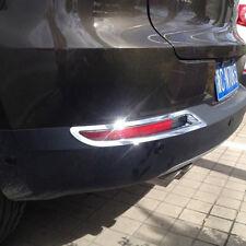 ABS Chrome Rear Tail Fog light Cover Trim For Volkswagon VW Tiguan 2012-2015