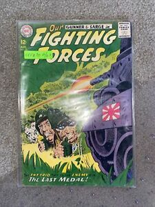 Our Fighting Forces #78 1963 Low Grade