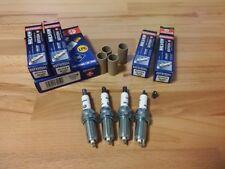 4x Suzuki Vitara 1.6i AllGrip y2015-2018 = Brisk YS Silver Electrode Spark Plugs