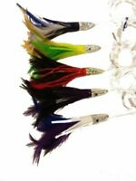 Feather Duster Fishing Lure - Small, Mono Rigged