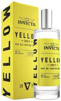 Invicta Unisex Yellow 1837 Fragrance, 3.4oz  30323