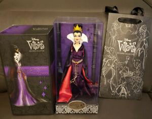 "Disney Villains Designer Collection Evil Queen 12"" Doll NIB – LE"