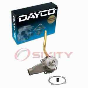 Dayco Engine Water Pump for 1987-1992 Ford F-350 4.9L L6 Coolant Antifreeze cn