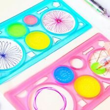 1 Pcs Toys Ruler Stationery Drawing  Geometric Spirograph  Set Drafting Tools