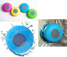 SHOWER SPEAKER CASSA BLUETOOTH ALTOPARLANTE IMPERMEABILE WATERPROOF MINI SPEAKER