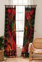 Mandala Window Curtains Indian Wall Room Drapes Hippie Decor Tapestry Curtain