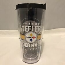 NEW Authentic OFFICIAL NFL Pittsburgh Steelers Tervis Tumbler 24oz - SHIPS FREE!