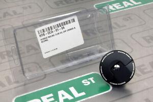 Hybrid Racing Slim Oil Cap Dust Black Honda Acura HYB-OCA-01-04