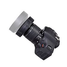 72MM Collapsible Rubber Lens Hood for Canon, Nikon, Sony, Samsung,Olympu, Pentax